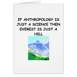 ANTHROPOLOGY gifts t-shirts Greeting Card