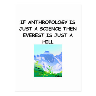 ANTHROPOLOGY gifts t-shirts Postcard