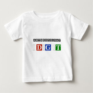 Anthropology I Dig It Baby T-Shirt