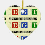 Anthropology I Dig It Christmas Ornament