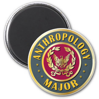 Anthropology Major 2 Inch Round Magnet