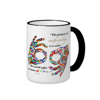 Anthropology Ringer Mug
