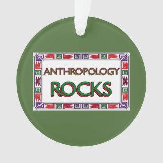 Anthropology Rocks Ornament