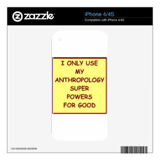 anthropology iPhone 4 skin