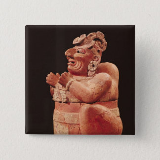 Anthropomorphic censer, from Guatemala Button