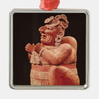 Anthropomorphic censer, from Guatemala Metal Ornament