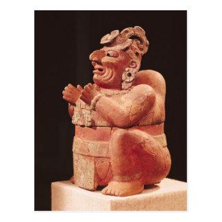 Anthropomorphic censer, from Guatemala Postcard