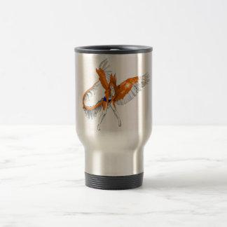 Anthropomorphic Furry Rabbit Dragon Angel 2010 15 Oz Stainless Steel Travel Mug