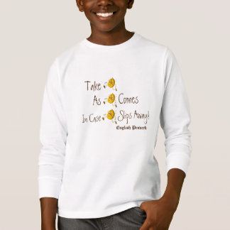 Anthropomorphic Lifes Lessons shirt Live Proverb