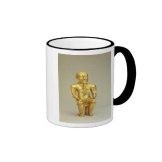 Anthropomorphic lime flask ringer coffee mug