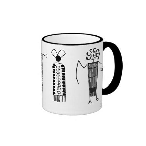 Anthropomorphs Ringer Coffee Mug