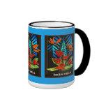 Anthurium de Hawiian (taza personalizada) Taza A Dos Colores