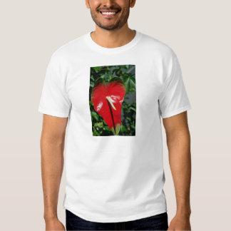 Anthurium flowers t shirt