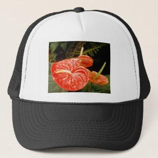 Anthurium lily trucker hat