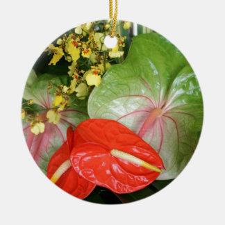 Anthurium Stunners! Ceramic Ornament