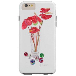 Anthurium Vase Tough iPhone 6 Plus Case