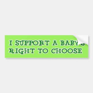 Anti Abortion Bumper Sticker