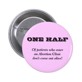Anti Abortion Pinback Button