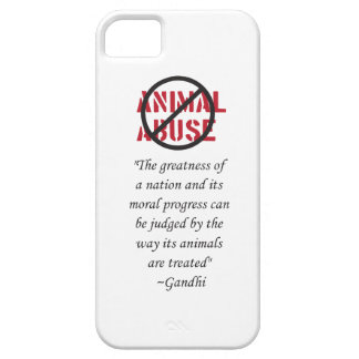 Anti Abuse Phone case iPhone 5 Covers