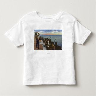 Anti-Aircraft Fire from U.S. Carrier - US Navy Toddler T-shirt