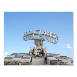 Anti Aircraft Tracking Radar Device Card