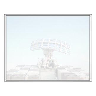 Anti Aircraft Tracking Radar Device Flyer