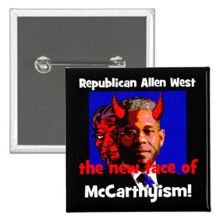 anti Allen West Buttons
