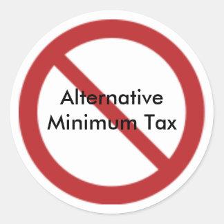 Anti-Alternative Minimum Tax Stickers