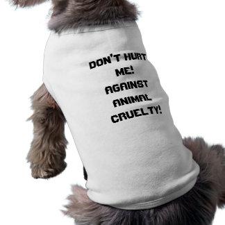 Anti-Animal Cruelty Tee