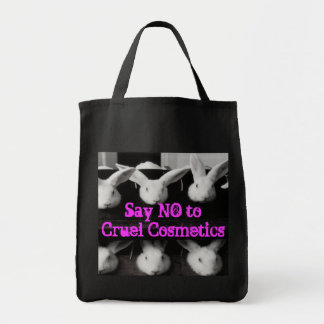 Anti Animal Testing Cruelty Free Cosmetics Bag