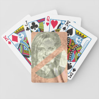 ANTI-ANN ROMNEY BICYCLE PLAYING CARDS