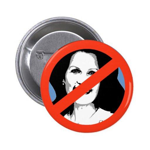 ANTI-BACHMAN: Anti-Michelle Bachman Pinback Buttons