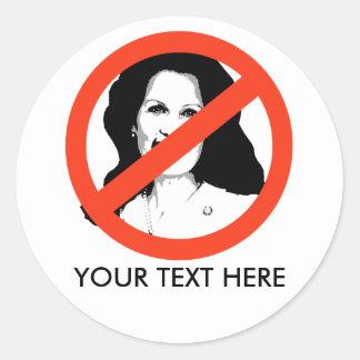 ANTI-BACHMAN: Anti-Michelle Bachman Stickers