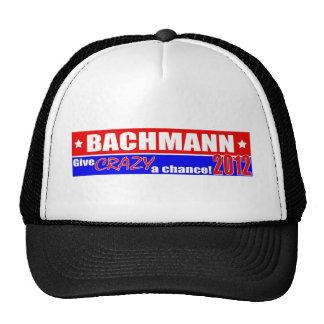 Anti Bachmann 2012 President DUMPER Design Trucker Hat