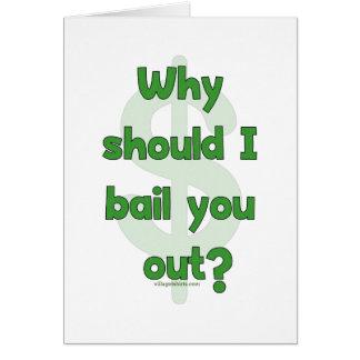 Anti-Bailout Card