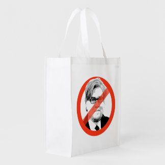 Anti-Bannon - Anti- Steve Bannon Reusable Grocery Bag