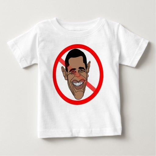 Anti Barack Hussein Obama Baby T-Shirt