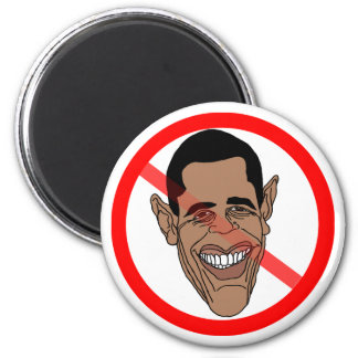 Anti Barack Hussein Obama Refrigerator Magnets