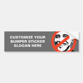 ANTI-BARACK OBAMA: ANTI-OBAMA BUMPER STICKER