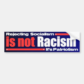 Anti Barack Obama Design Bumper Sticker
