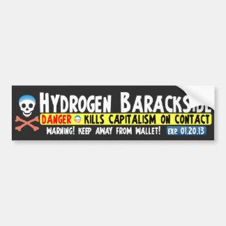 Anti Barack Obama - Hydrogen Barackside Bumper Sticker