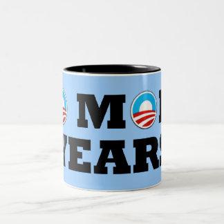Anti Barack Obama Two-Tone Coffee Mug
