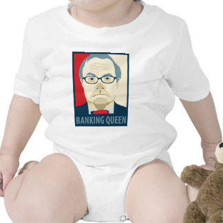 Anti-Barney Frank Banking Queen Bodysuits