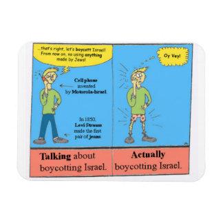 Anti-BDS Cartoon Magnet