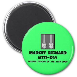 Anti Bernard Madoff jail Refrigerator Magnet