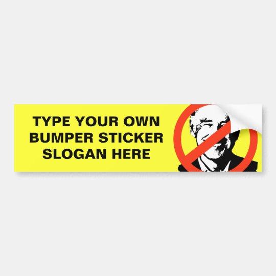 ANTI-BIDEN - ANTI-Joe Biden Bumper Sticker