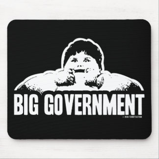 ANTI BIG GOVERNMENT MOUSE PAD
