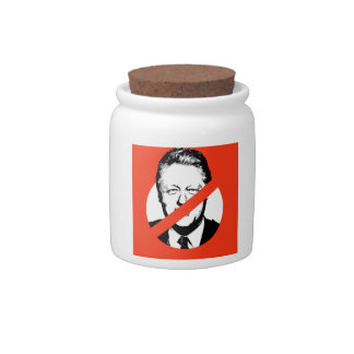 ANTI- BILL CLINTON CANDY JAR