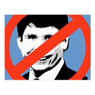 ANTI-BLAGOJEVICH: Rod Blagojevich anti Tarjetas Postales