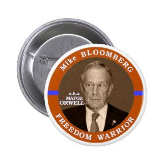 anti-Bloomberg Pinback Button
